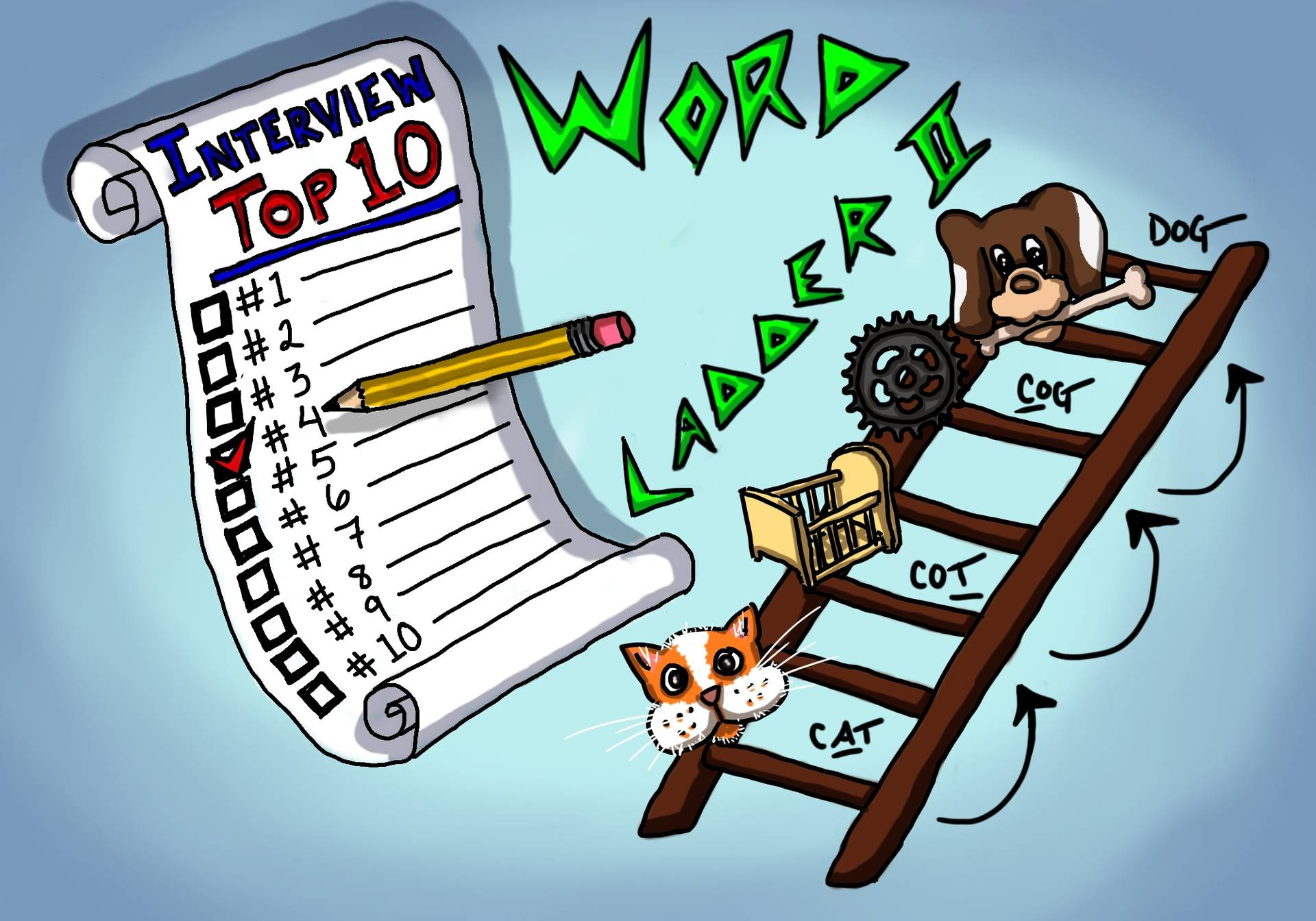 Most Important Interview Questions #4 - Word Ladder II and