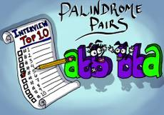 Top Interview Questions #5 - Palindrome Pairs and the Trie